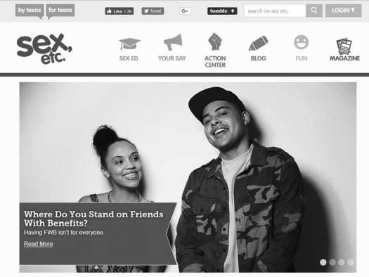 Sexual Health Website For Teens