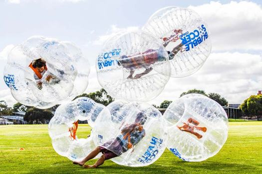 Bubble Soccer ata bucks party