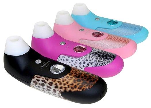 Handheld clit stimulators for oral stimulation