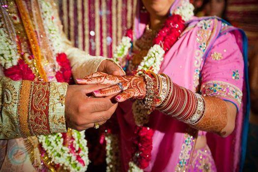 Arranged marriage ceremony
