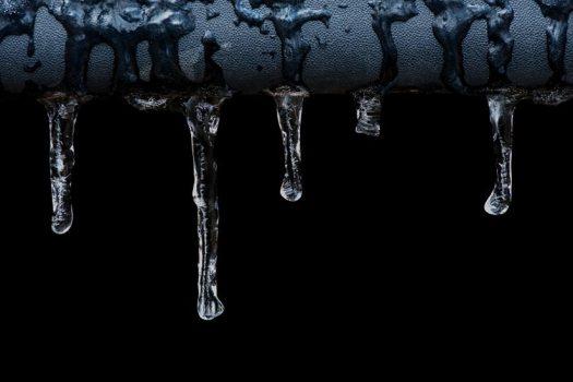Precum droplets
