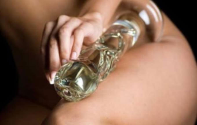 Glass sex dildos