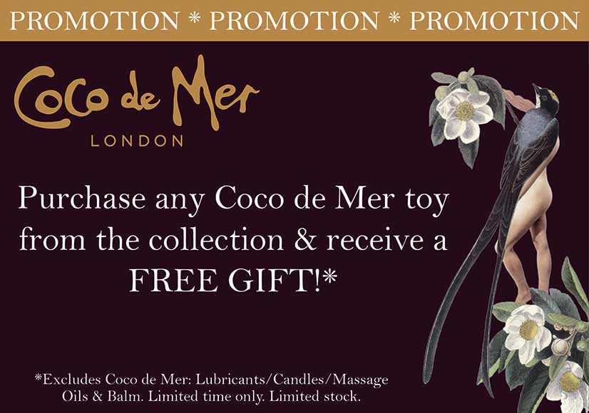 Coco de Mer special gift offer