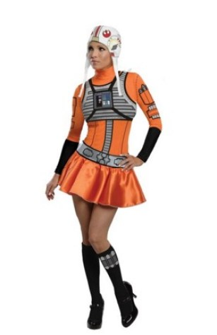 Star Wars Female X-Wing Fighter Costume