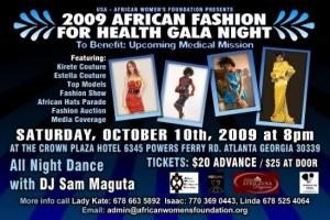 African Fashion For Health Gala Night