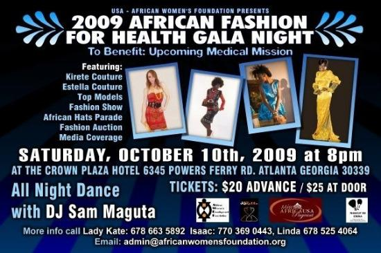 African Fashion For Health Gala Night