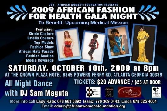 African Fashion Galla Show