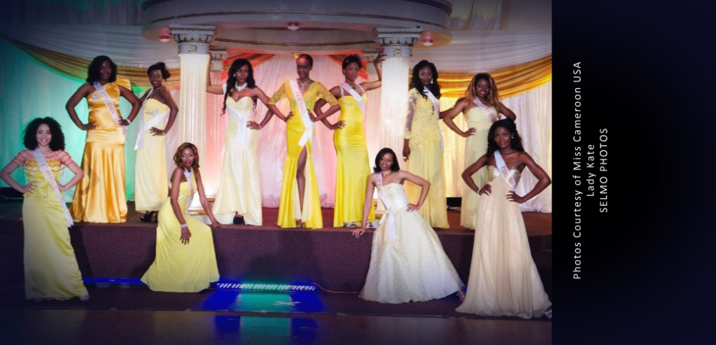 NORA NDEMAZIA CROWNED MISS CAMEROON USA 2014