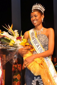FIFI SOUMA IS CROWNED MISS AFRICA USA 2010