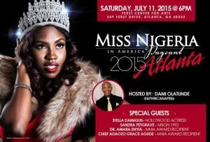 2015 Miss Nigeria in America Pageant Comes to Atlanta