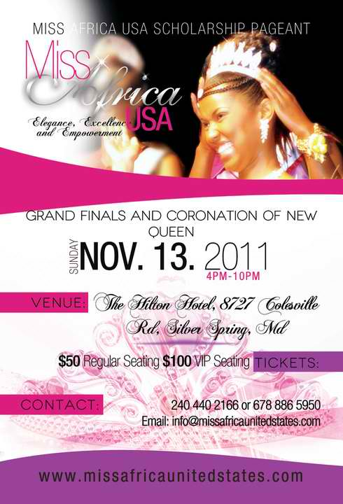Miss Africa USA Pageant – 7th Edition