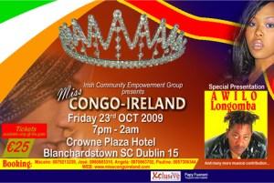 Miss Congo-Ireland 2009