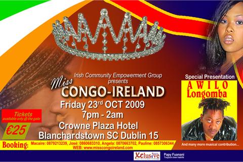 Miss Congo Ireland 2009