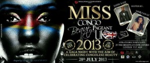 Miss Congo Beauty Pageant UK 2013 Gala Evening