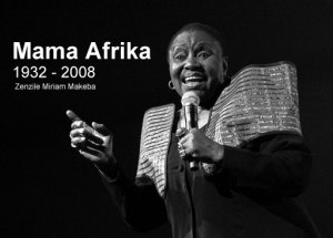 "Farewell to ""Mama Afrika"""