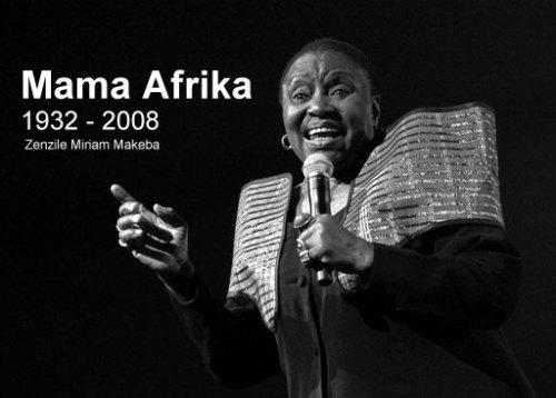 Farewell to Mama Afrika
