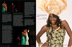 2007 Miss NIgeria in America Beauty Pageant Winner