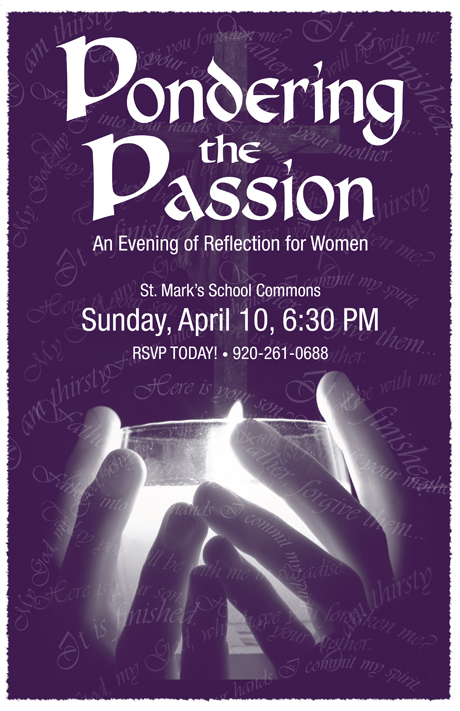 Pondering the Passion, St. Mark's Lutheran, Watertown, WI