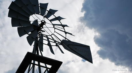 Adunate's windmill