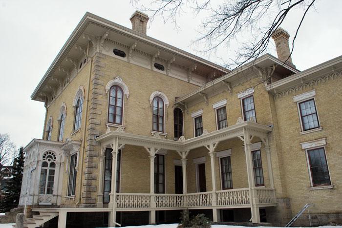 Lincoln-Tallman House, Rock Co.Historical Society, Janesville, WI