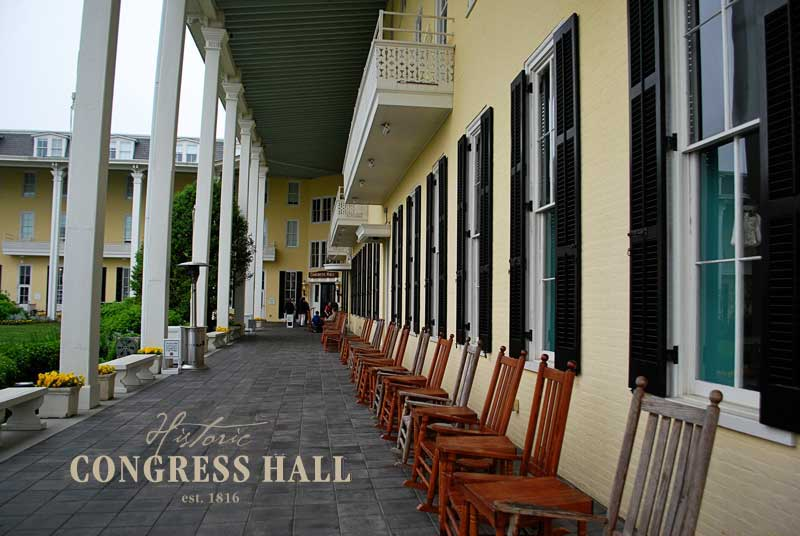Historic Congress Hall, Cape May, NJ