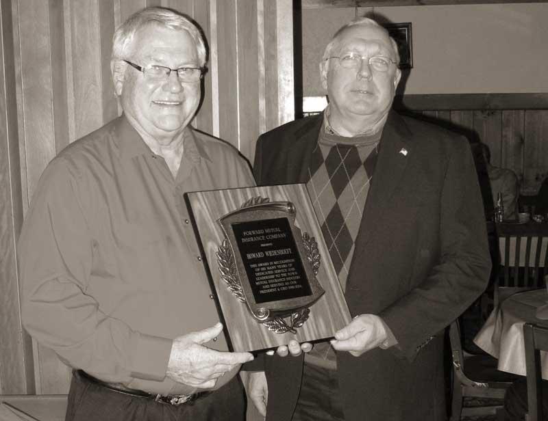 Howard Wiedenhoeft, Forward Mutual Insurance Company, Ixonia, Wisconsin