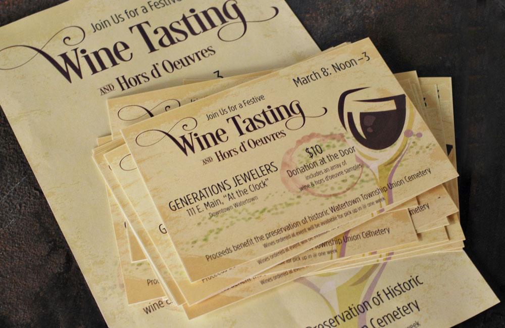 Wine Tasting promotional