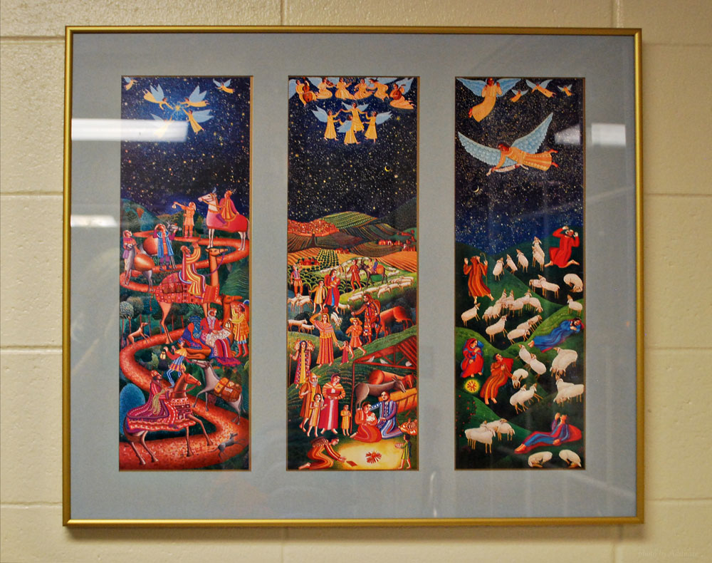 Artwork displayed by Risen Savior Lutheran School, Milwaukee, WI