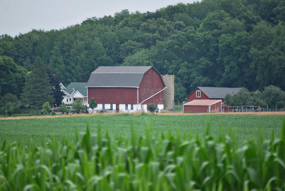 Jefferson County, Wisconsin farm