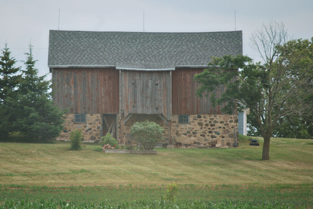 Old barn in Farmington, Wisconsin