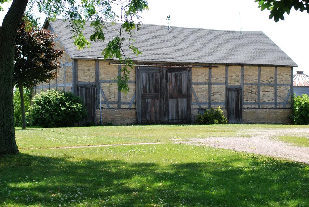Fachwerk Barn, Watertown, Wisconsin