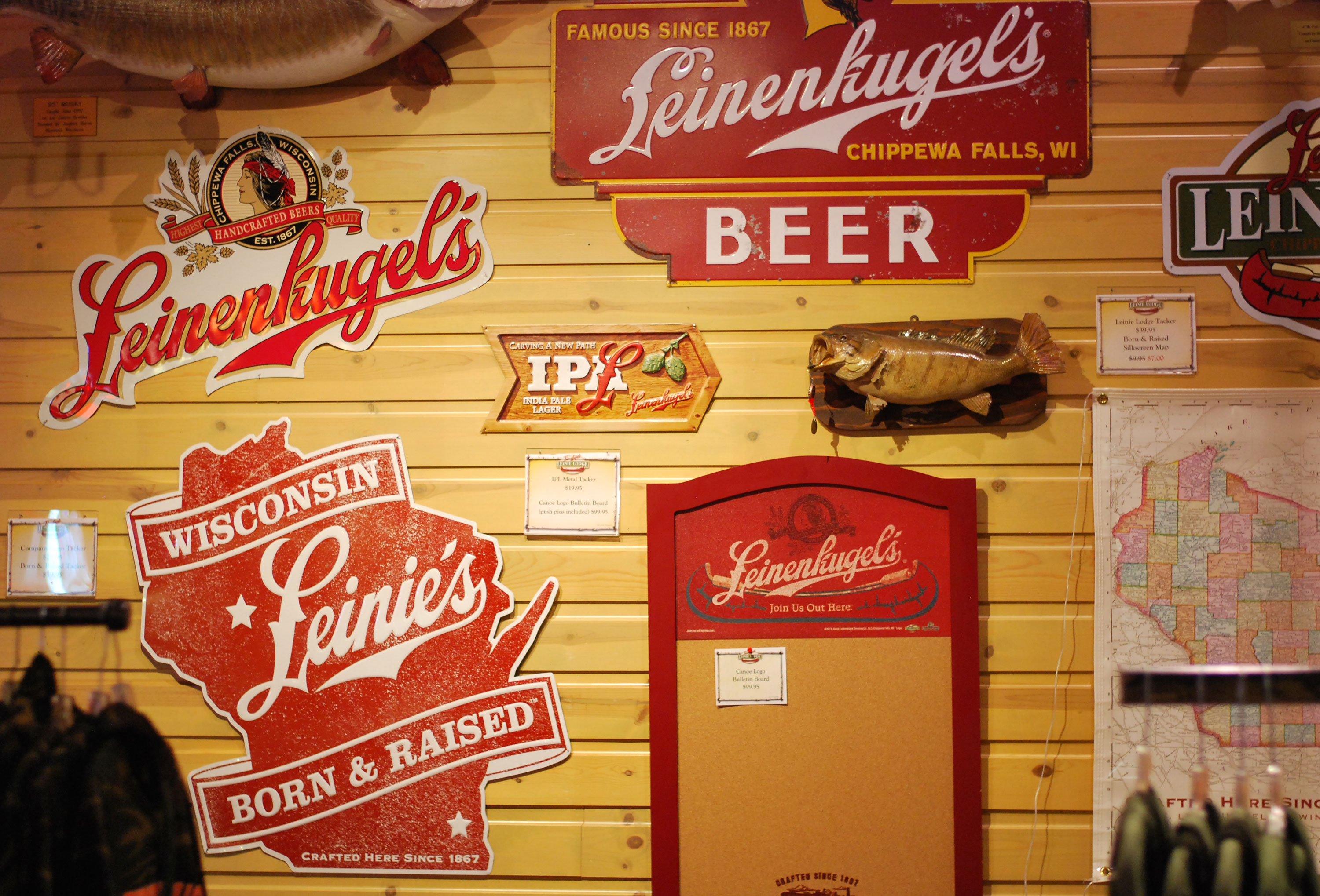 Jacob Leinenkugel Brewing Company, Chippewa Falls, Wisconsin