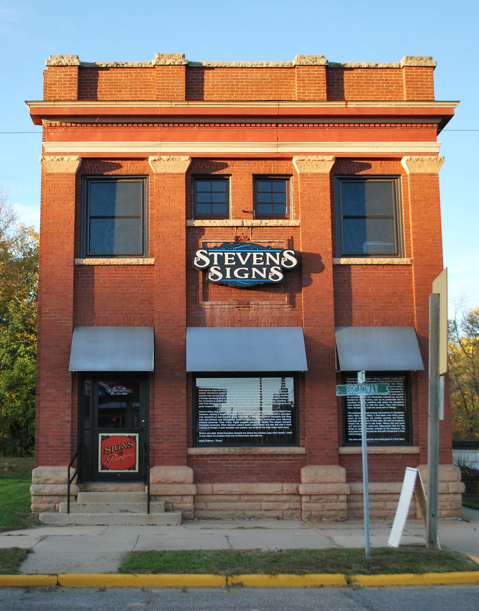 Stevens Signs, Rock Springs, WI