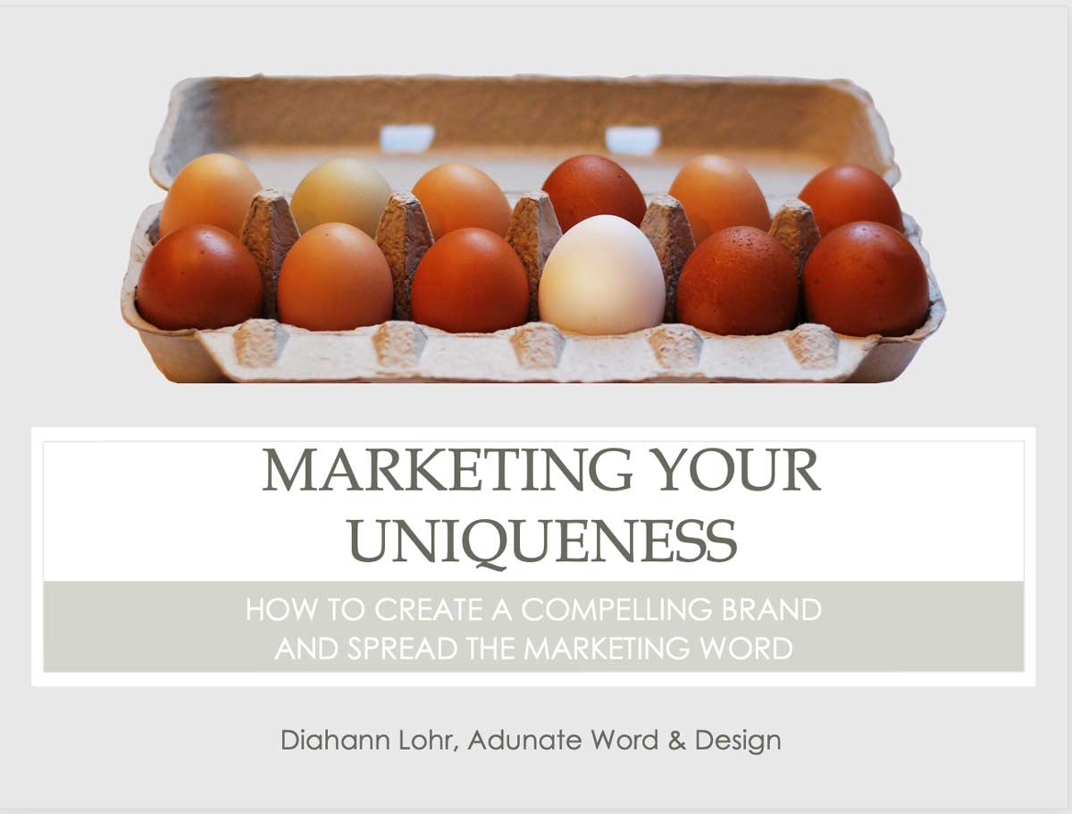 Marketing Your Uniqueness