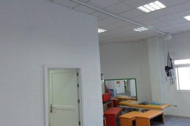 «Grúa de techo para el entrenamiento de la marcha en el Centro InterActúa de Almería»
