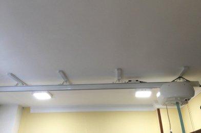 «Grúa de techo para la transferencia a la cama desde la silla en Cádiz»