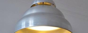 Unsere neue Leuchte von der Berliner Designgruppe e27. Berliner Pendel D:43cm H 35cm.