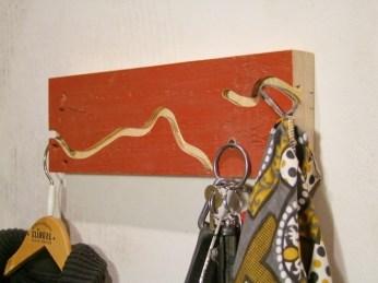 Holzwurm aus alter Berliner Bodendiele