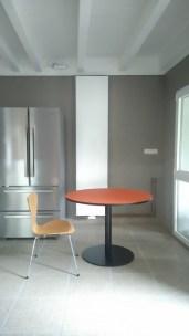 Linoleum orange D:100cm