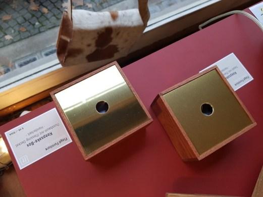Keepsake Box Nussbaum und Sapeli