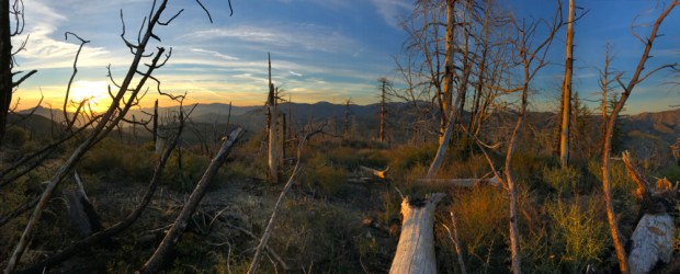 Sunset Atop Mt Mooney, Angeles National Forest