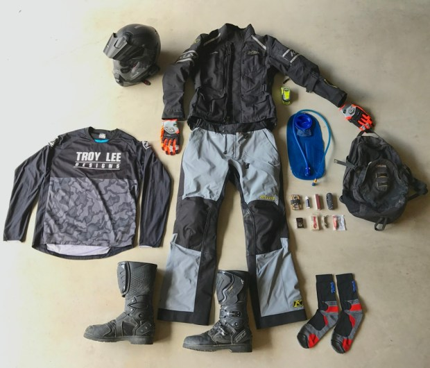 Riding Gear for Trip to Alaska