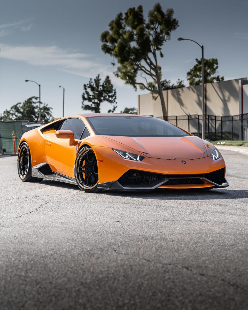 Lamborghini Huracan Orange : lamborghini, huracan, orange, Arancio, Borealis, Lamborghini, Huracan, LP610-4, ADV05C, Track, Wheels