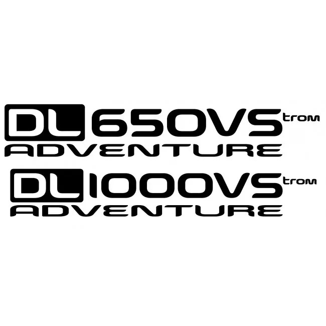 Naklejki odblaskowe DL650 DL1000 Adventure