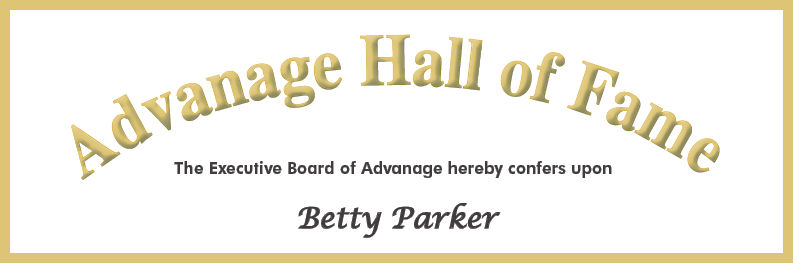 Betty Parker Award2 Advanage Diversified Products Inc News