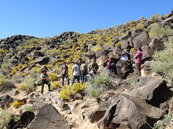 Petroglyphs field trip