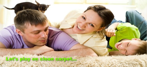 lets play on clean carpets