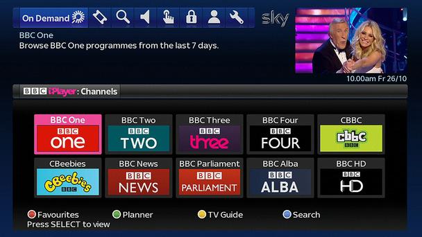 Sky+ adds BBC iPlayer