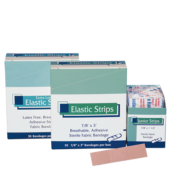 Elastic strip adhesive bandage life safety