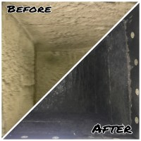 Residential Duct Cleaning Photos | Advanced Furnace & Air ...
